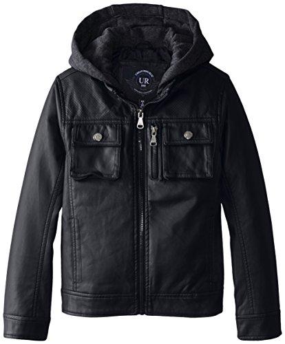 Urban Republic Faux Leather Jacket Fleece