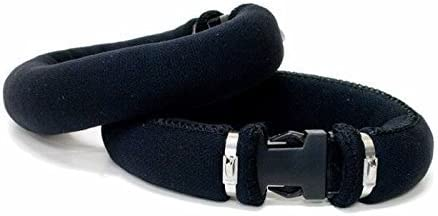 Black 3.5 lbs. Trident Large Size Ankle Weight Set