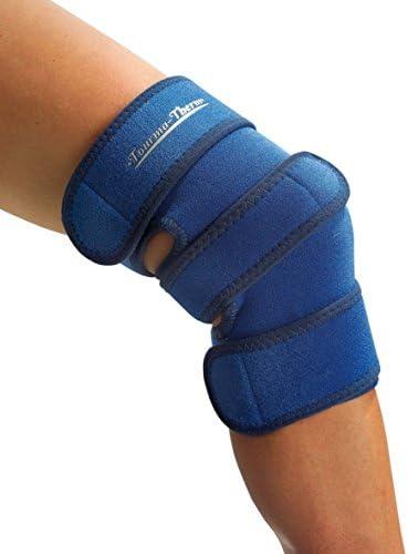 Tourma-Therm Kniebandage - stützt und wärmt - mit Turmalin-Kristallen zur Schmerzminderung durch Tiefenwärme, Universalgröße