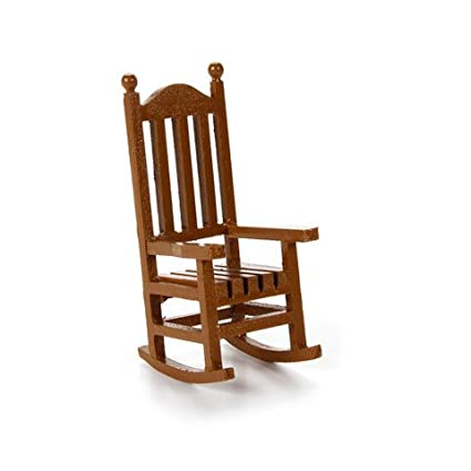 Bulk Buy Darice Diy Crafts Miniatures Wood Rocking Chair 1 5 X 3 75 Inches 1 Piece 3 Pack Jcd9190 562