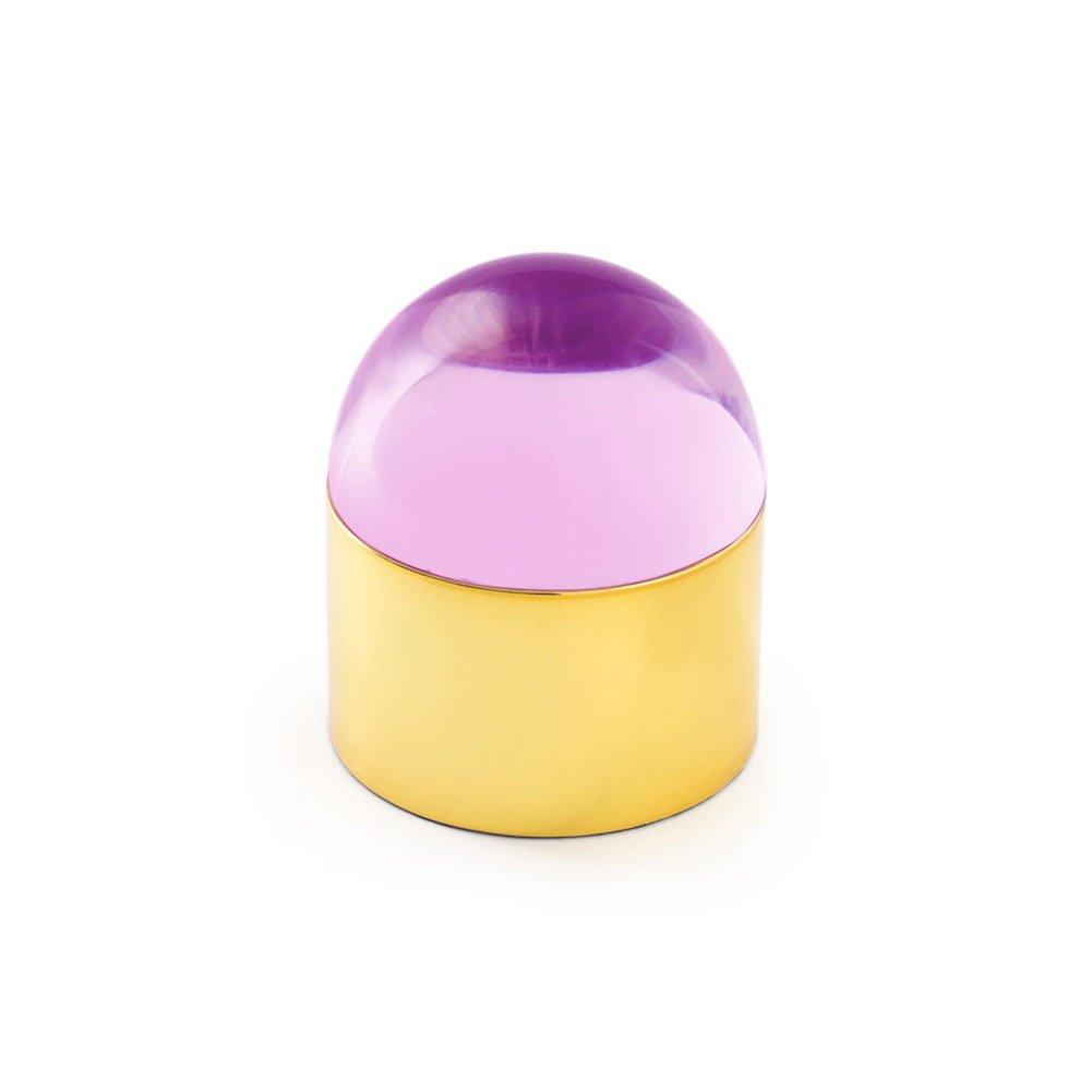 Jonathan Adler - Globo Box - Brass & Pink - Small