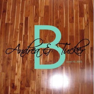 Wedding Dance Floor Decals  B Style