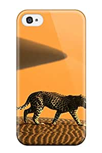 Waterdrop Snap-on Cheetah Animal Cheetah Case For Iphone 4/4s