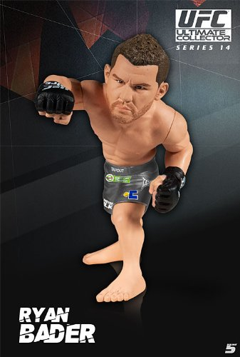 Round 5 UFC Ultimate Collector Series 14.5 LIMITED EDITION Action Figure Ryan Bader