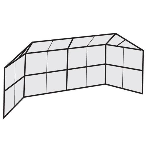 Bsn Chain Link Backstop - Chain Link Backstop Y/20 ft.