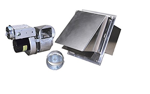 (Tjernlund GPAK1 Complete Vent System for Gas Heaters Up to 250,000 BTU)