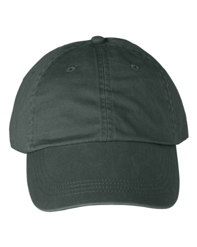 Anvil - 6-Panel Pigment-Dyed Twill Cap >> One size,PINE