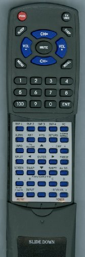 PIONEER Replacement Remote Control for PDP5061HD, PDP5060HD, PDP4360HD, AXD1507 -  Redi-Remote, RTAXD1507