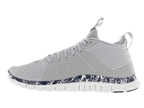 Nike Mens Free Hypervenom 2 Scarpe Da Allenamento Lupo Grigio Ossidiana Bianco 004