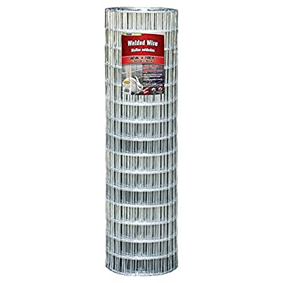 YARDGARD 308323A 60 inch by 100 foot 12.5 gauge 2 inch by 4 inch mesh galvanized welded wire