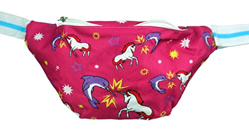 [Funny Guy Mugs Unicorn VS Narwal Fanny Pack] (Edc Costumes Men)