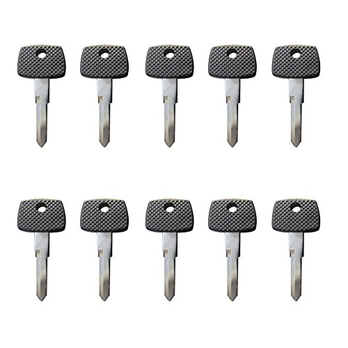 New Replacement Transponder key Chipped Uncut Blade / T5 Chip / MB17 for Mercedes Benz (10) by ECS AMERICA