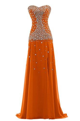 Ivydressing - Vestido - trapecio - para mujer naranja