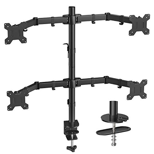 Quad Computer Monitor Mount 75x75 100x100mm product image