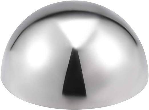 201 Edelstahl hohl Kappe Kugel Ball f/ür Gel/änder Treppe Spindel Pfosten 38mm Durchmesser sourcing map 5Stk