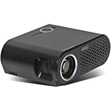 Simplebeam Video Projector, Native 720P Movie Projector Support Full HD 1080P, Led Projector for Home Theater Outdoor Movie Nights/Games/Party
