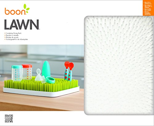 Boon Drying Rack: Boon Lawn Countertop Drying Rack White