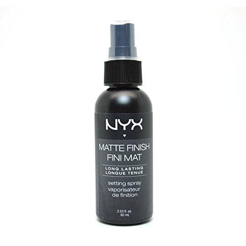 [1 NYX Cosmetics Make Up Setting Spray Matte Finish MSS01 Long Lasting, 2.03 Ounce + Free Earring] (Setting Finish)