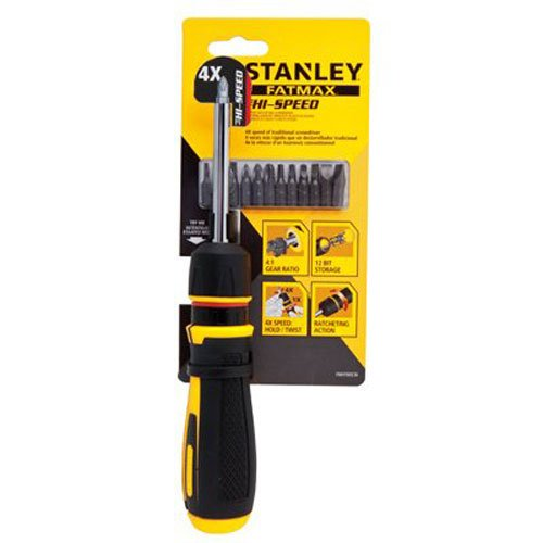 STANLEY FMHT69236 Hi-Speed Ratcheting (Stanley Ratchet Screwdriver)
