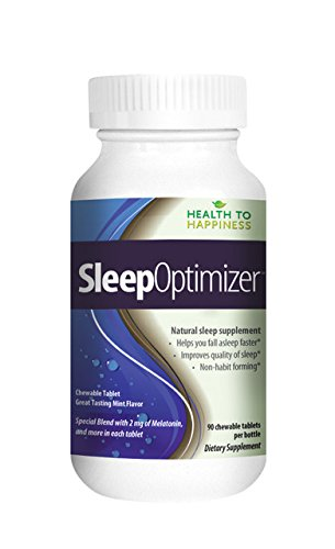 Sleep Optimizer Is A Great Tasting Chewable Tablet With Mint Flavor Special Blend With 2 Mg Of Melatonin And More  90 Tablets