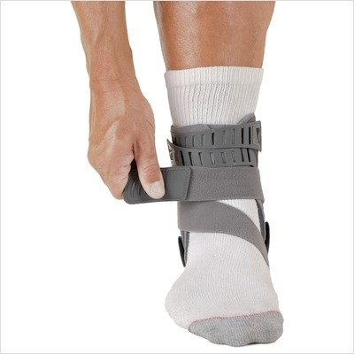 Rebound Ankle Brace Size: Large, Side: Left, Style: With Strap by Ossur