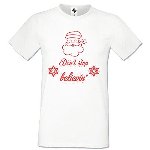 hombre S Camiseta 4sold White Skull para Gris gris de cuello redondo xaqqw7zYp
