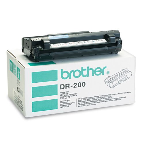 Brother - DR200 Drum Unit, Black DR200 (DMi EA