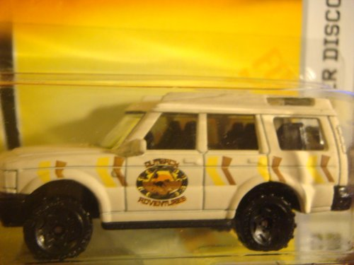 - Matchbox Land Rover Discovery Tan Outdoor Adventure Issue series #85 Old Style Wheels 1/64 2007