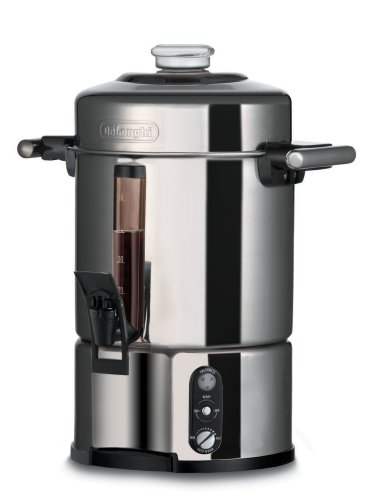 DeLonghi DCU500T 50-Cup-Capacity Stainless-Steel Coffee Urn