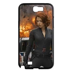 J-LV-F Diy Phone Case Avengers Marvel Pattern Hard Case For Samsung Galaxy Note 2 N7100
