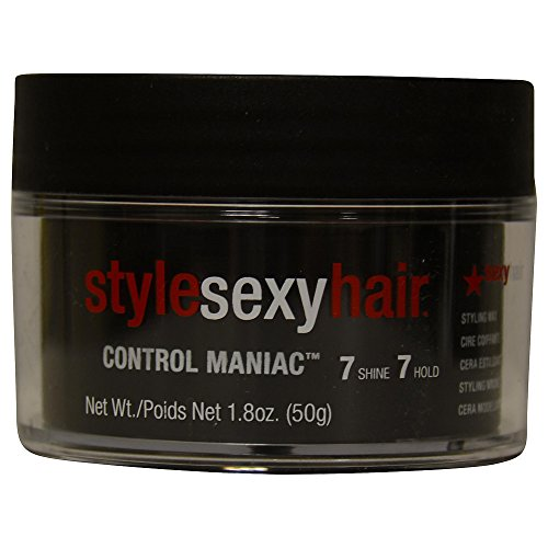 Style Sexy Hair Control Maniac Wax, 1.8 oz ( Pack of 2)