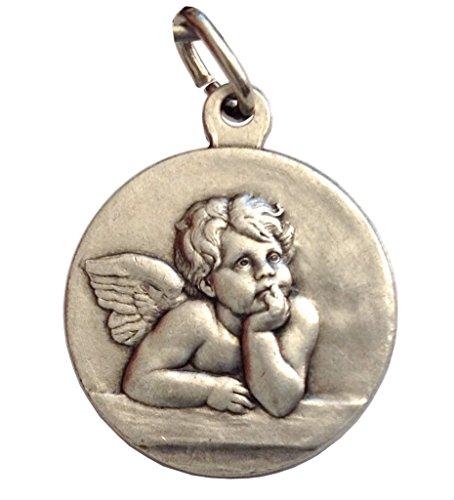 - The Saint Guardian Angel Silver Medal - The Patron Saints Medals