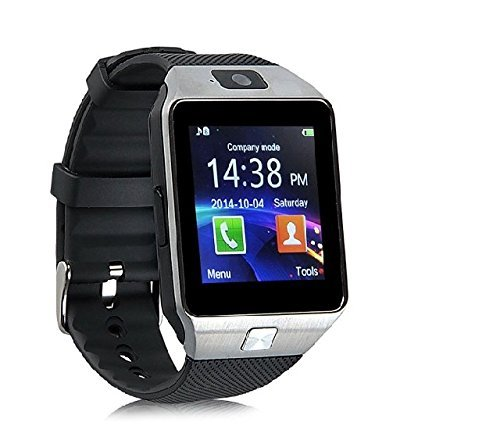 top-star-dz09-bluetooth-smart-watch-with-camera-for-iphone-and-android-smartphones-silver