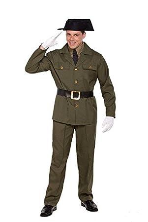 Disfraz de Guardia Civil para Adultos: Amazon.es: Juguetes y juegos