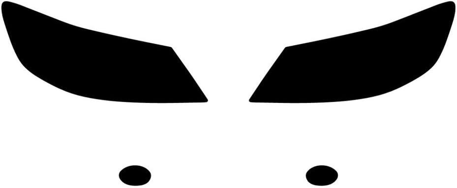 Blackout Smoke Rvinyl Rtint Headlight Tint Covers for Acura RL 2005-2008
