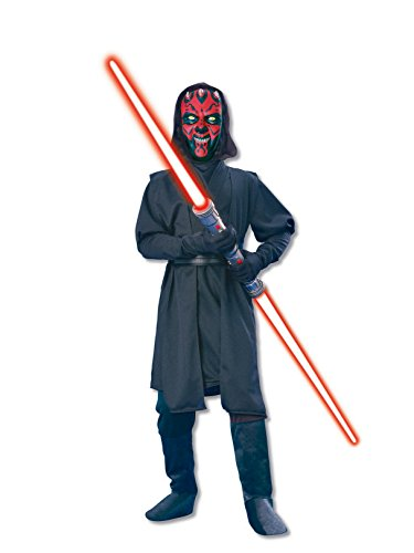 (Rubie's Star Wars Deluxe Darth Maul Child's Costume, Medium - Medium One)