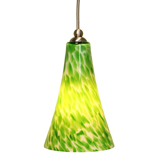 Green Glass Light Pendant in US - 6