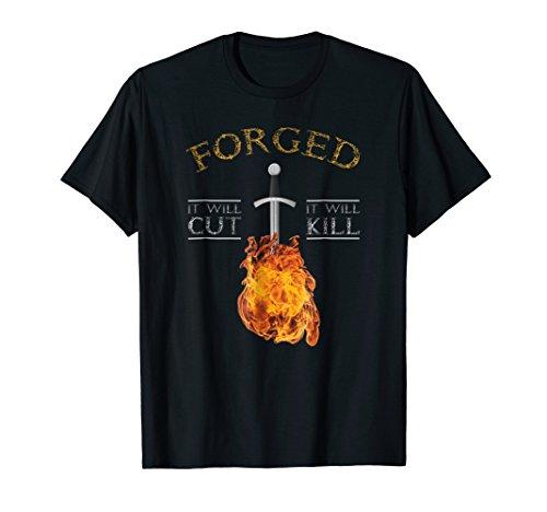 Knife Forging T-shirt It Will Cut ()