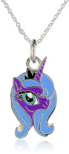 MLP Princess Luna Minimalist Necklace Pendant