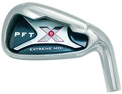 PFT X9 High Moi Extreme 9 Iron Set Golf Clubs Custom Made Right Hand Stiff S Flex Steel Shafts Complete Mens Irons Ultra Forgiving OS Oversized Wide Sole Ibrid Club by PFT X9 (Image #5)