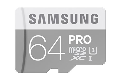 Samsung 64GB PRO Class 10 Micro SDXC Card with Adapter up to 90MB/s (MB-MG64EA/AM) by Samsung