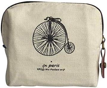 Hecate Mini Porte-Monnaie Femme Mignon Petit Sac /à Main de Mode Sac /à Monnaie Toile Fermeture /Éclair Portefeuille*1