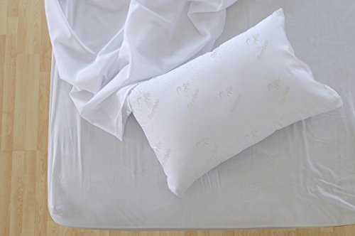 Find Bargain My Perfect Bamboo Pillow - 5 Star Comfort - Best Memory Foam Pillows - King