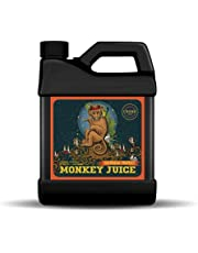Monkey Juice Cronk Grow Nutrients – Plant Fertilizer – Root Mass Enhancer – Compatible with Soil, Soilless and Hydroponic Garden