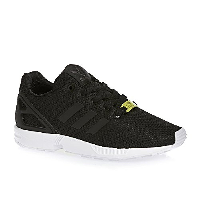 Adidas Zx Flux, Unisex Kids Low-Top Sneakers, Black (Black/Black/Ftwr White), 3 Child UK (35 1/2 EU)