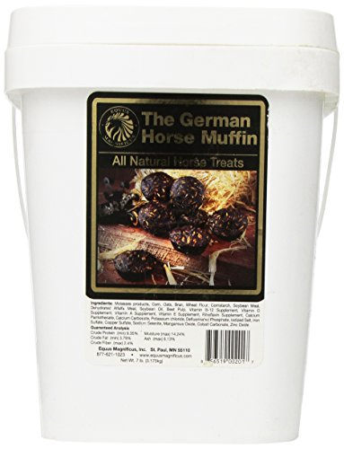 Peppermint Nuggets - Equus Magnificus German Horse Muffins in Bucket, 7-Pound