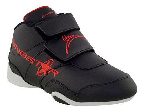 Ringstar Fight Pro Martial Arts Shoe, Black, 12