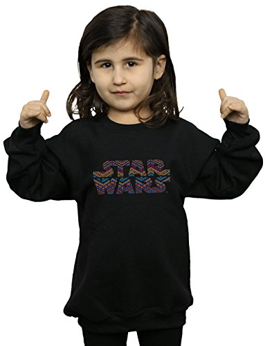 Sweat Colour Fille Star Noir Logo Wars Aztec shirt XZSwgq