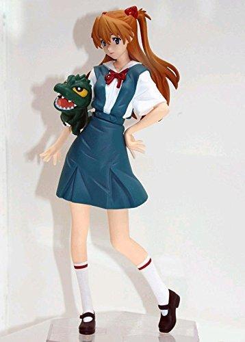 Godzilla vs Evangelion Premium PM Figure - Asuka Langley