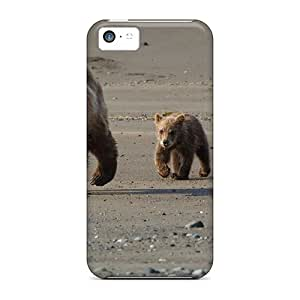 Iphone 5c Cases Covers Bear With Cubs Cases - Eco-friendly Packaging